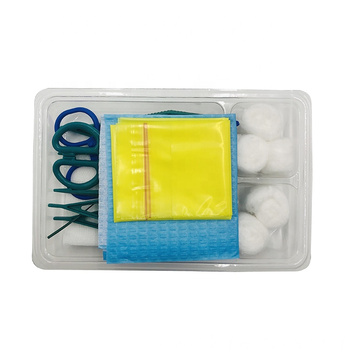 Disposable sterile Dressing kit packs support customized