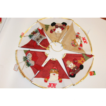 Christmas Tree Skirt For Xmas Party Holiday Decoration