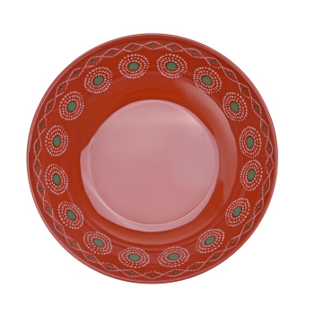 8.5 Inch Melamine Shallow Bowl Set of 6