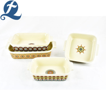 Rectangular Double Ear Baking Pan Set