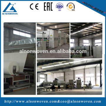 High speed nonwoven geotextile machinery