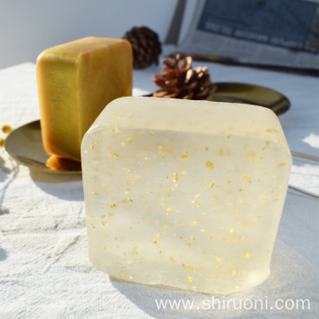 Pure 24k Gold Shinny Handmade Face Bath Soap