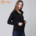 Winter Women's Letter Print Long Sleeve Zip Sweatshirts