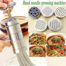 Pasta Machine Stainless Steel Noodle Maker Press Pasta Machine Kitchen Pressing Spaghetti Crank Cutting Noodle Maker Tools