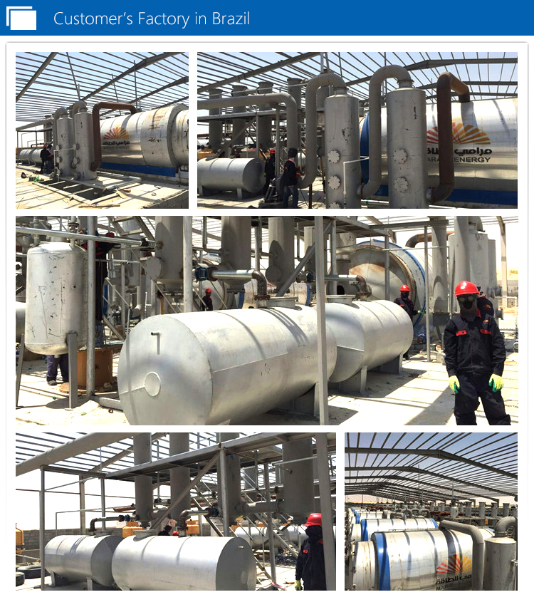 Waste Plastic Oil Refinery Plant