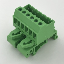 5.08MM pitch Pluggable Din rail mounted terminal block