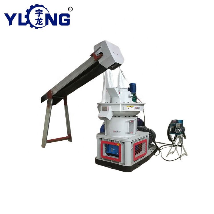 Hot sell 90kw veener wood pellet machine sawdust