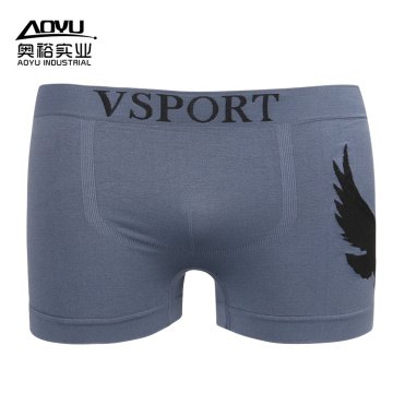 OEM Wholesale Custom Gray Mens Boxer Shorts