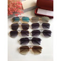 Unisex Square Semi Rimless Sun Glasses Wholesale