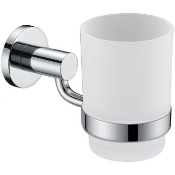 Brass Glass Holder With Cup Bathroom Series