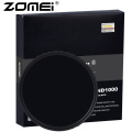 ZOMEI Ultra HD-W MC-ND1000 Filter German Glass Neutral Density Camera Lens 52-82mm 18layer coating 2.3mm Frame Height