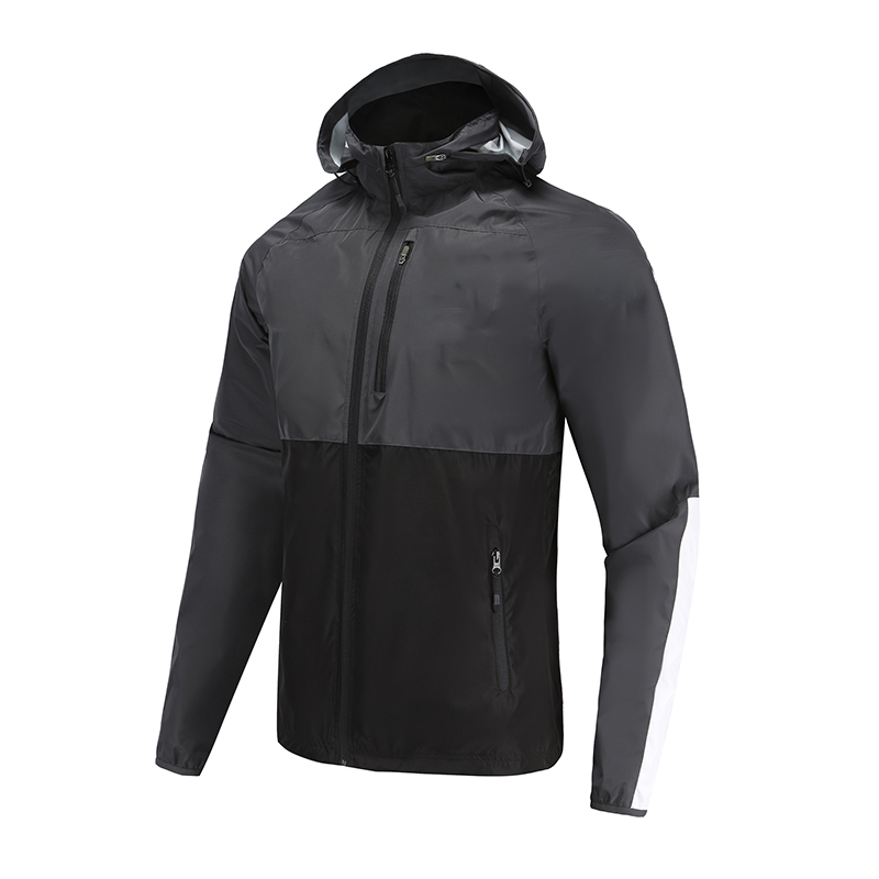 Soccer Wear Zip Up Coat
