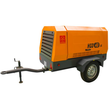 HGD40-8G mini electric diesel screw air compressor