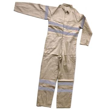 Factory wholesale polyester cotton coveralls adult