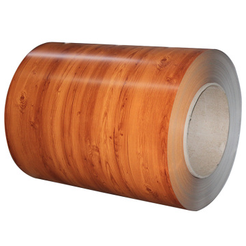 Wood grain PPGI steel coils