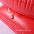 red color inflatable Simple baby sofa chair