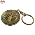 Metal Custom Promotional Round Keychain