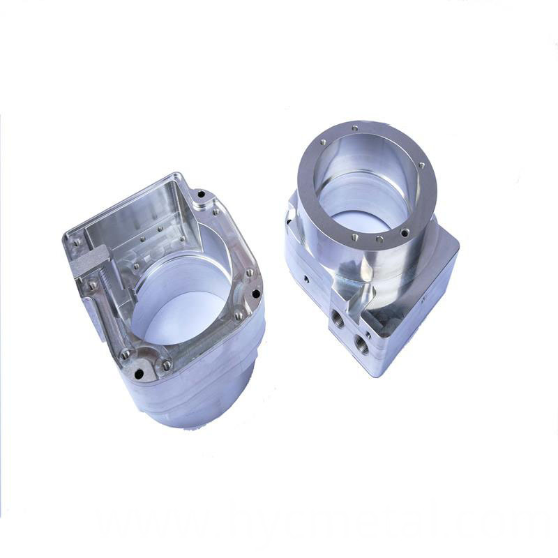 Aluminum Complex Parts 5 Axis Processing