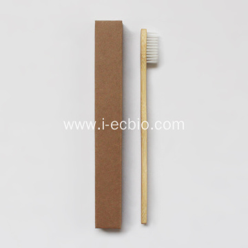 Wooden Toothbrush Natural Bamboo