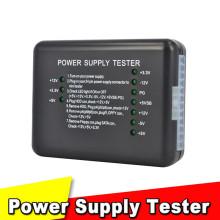 Power Supply Tester Checker 20/24 Pin PSU ATX SATA HDD LED Indication Diagnostic Tool Testing for Anode Cathode 12V 5V 3.3V