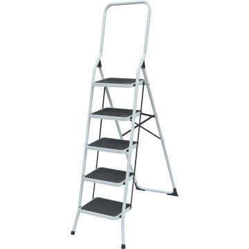 STEEL LADDER WITH HANDRAIL