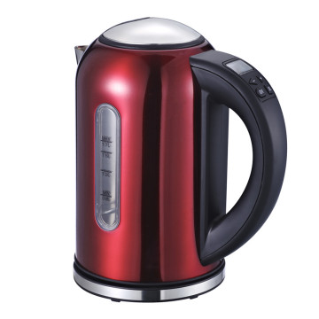 Electric Kettle Temperature Control Stainless Steel 1.7Liter