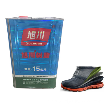 One component film adhesive for shoe bonding