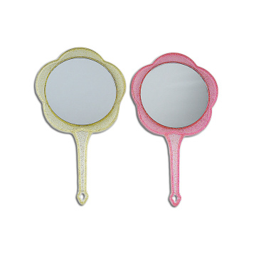 hand held mirror vintage makeup mirror double sided