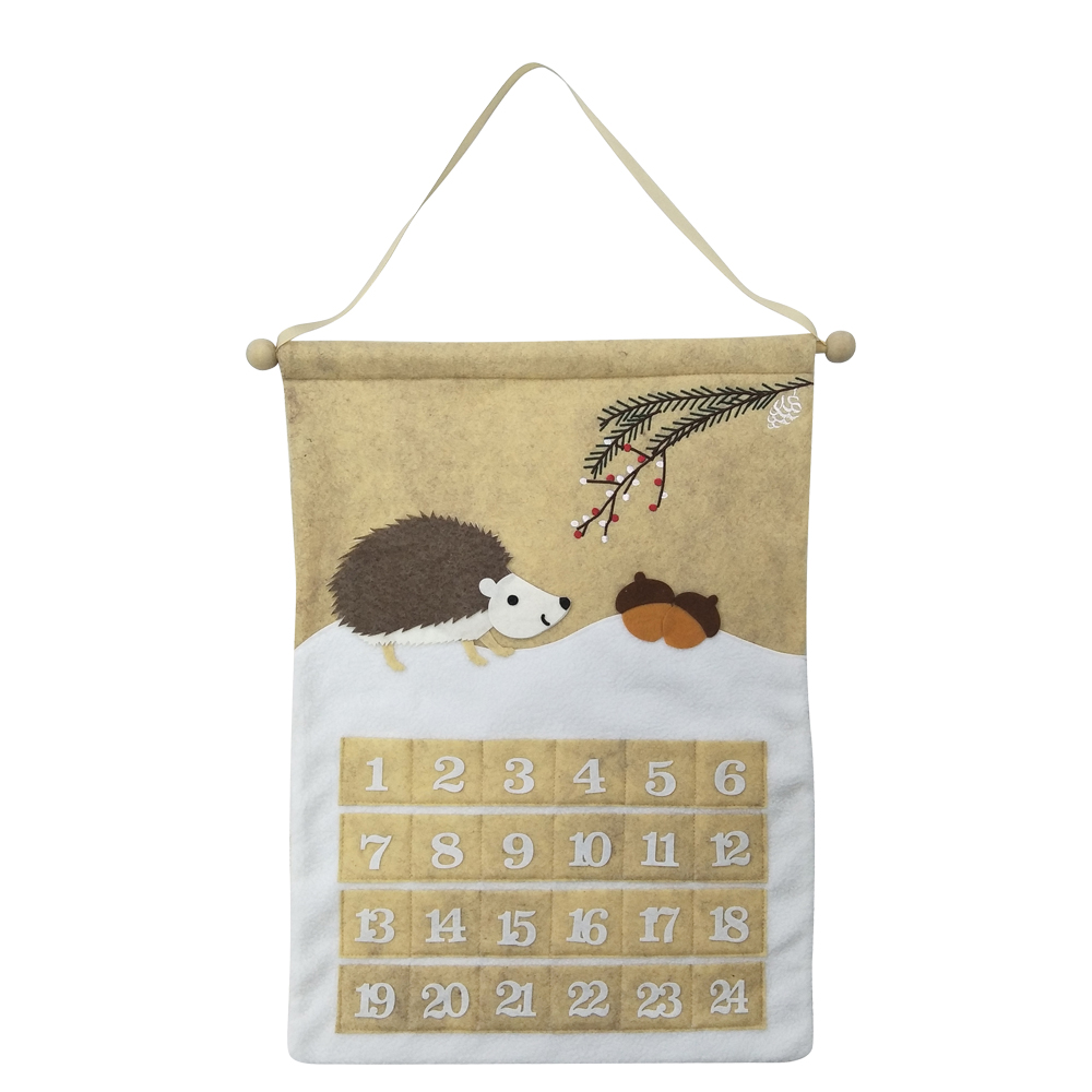 Hedgehog Advent Calendar