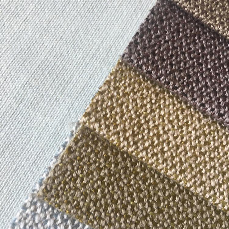 Household Textile Woven Dyed Plain Fabric
