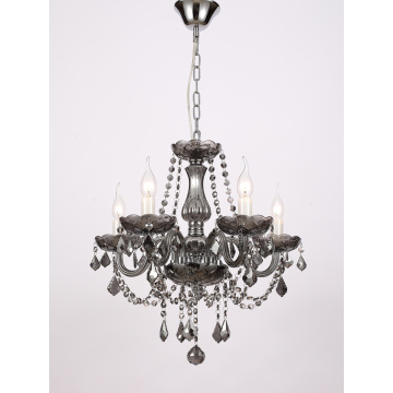 European Style Living Room Smoke grey Crystal Chandelier