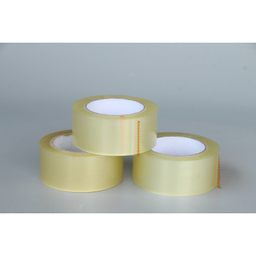 Yellowish stationery tape crystal clear tape