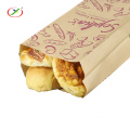 In stock bread kraft paper bag for bakery