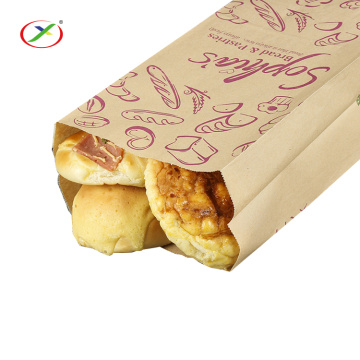 Sandwich bread wrapping paper bag