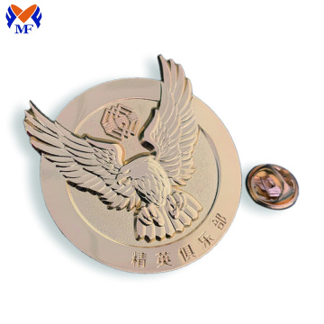 Metal Custom Eagle Pin Badge