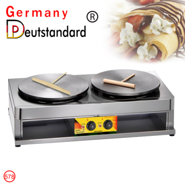 commercial electric crepe maker with CE for sale