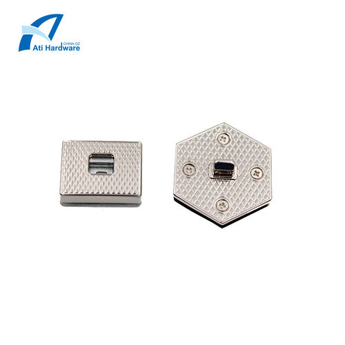 Latest Design Handbag Hardware Decorative Lock Accessories