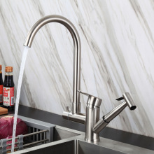 New Design Stainless Steel SS304 Kitchen Sink Faucet Function Spray Wash And Kitchen Tap with Sprayer