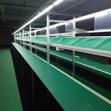 LED Pannel Belt Conveyor Assembly Line