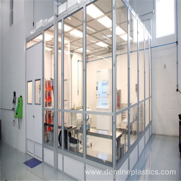 Polycarbonate solid panel clear plastic panel