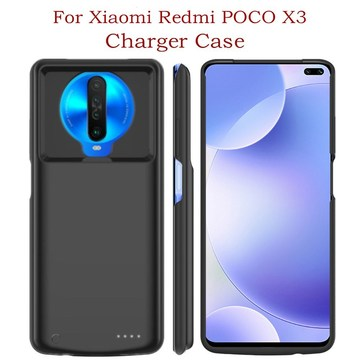6800mAh Portable Power Bank Battery Charger Cases For Xiaomi Redmi POCO X3 Battery Case Battery Charging Cover For Pocophone X3