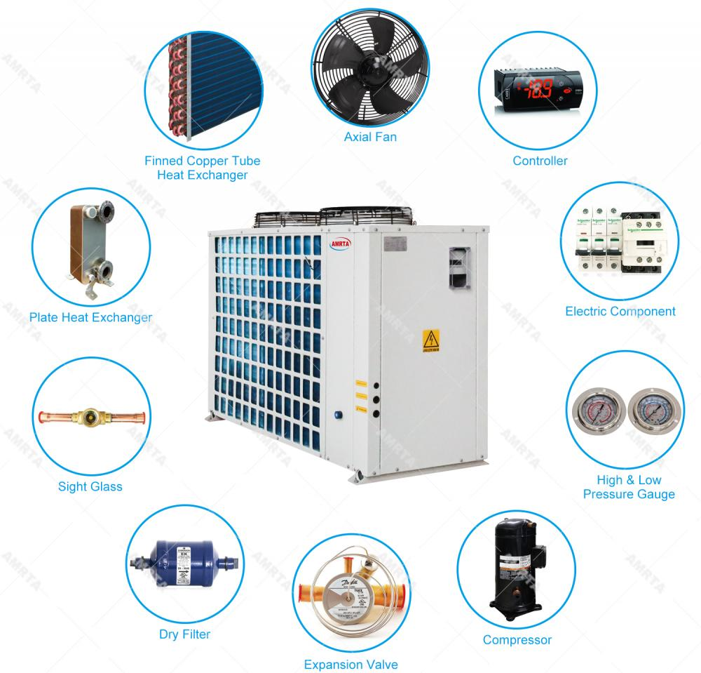 Inverter Scroll Compressor Water Chiller