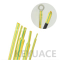 Identification Use Green Yellow Heat Shrink Sleeve