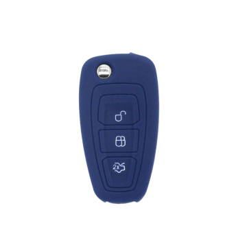 silicon car key cover for Ford Focus