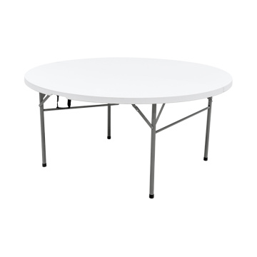 "60"" Round Portable Bi-Fold Event Folding Table"