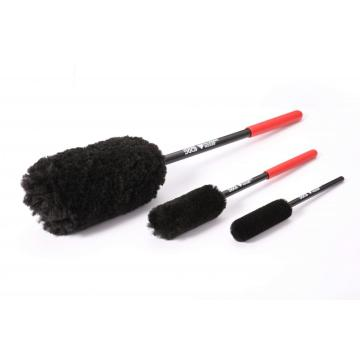 3-piece kit wheel woolies brush