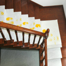 Flexible Self Adhesive Wood Stair Floor Protector Rolls