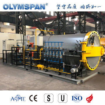 ASME standard composite part fabrication autoclave