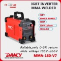 MMA DC 160a IGBT Inverter Welder machine