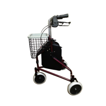 High Quality Steel Three-wheel Rollator